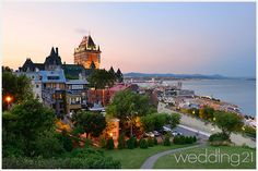 Photo about Quebec City skyline with Chateau Frontenac at sunset viewed from hill. Image of attraction, french, canadian - 39677364 Canada Tours, Adventure Bucket List, Quebec City, Travel And Leisure, Amazing Destinations, Cool Places To Visit, Beautiful Landscapes, The Good Place, Images