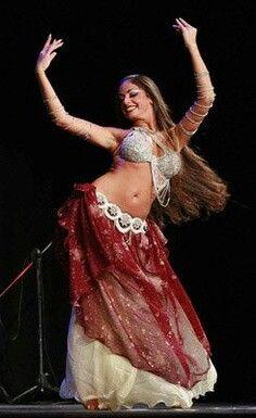 Sadie My Favorite Belly Dancer Love Her Long Brown Hair Dance Oriental