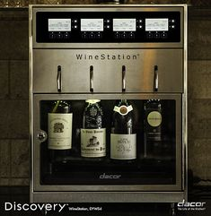 Dacor Discovery 20 Inch WineStation Wine Dispenser with Thermo-Electric Cooling System, LCD Controls, Parental Control Locking Door and Glass Door Wine Station, Wine Chillers, Wine Dispenser, Barolo Wine, Malbec Wine, Wine Case, In Vino Veritas, Wine Storage, Küchen Design