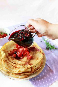Bulgarian pancakes.