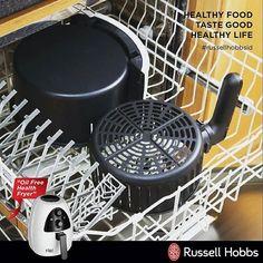 """Purifry Health Fryer Russell Hobbs merupakan kitchen gadget yang wajib dimiliki setiap keluarga yang concern dengan pola makan hidup sehat. Dengan teknologi """"fast circulating hot air"""" dapat memasak makanan dengan mudah, efisien dan sehat.  Kelebihan Purifry dari Russell Hobbs adalah : memiliki lapisan Permacoat yang tidak dimiliki Purifry lain. Lapisan ini aman dan membuat Purifry lebih tahan lama.  Untuk membersihkannya juga sangat mudah, dishwasher save, cukup melepaskan keranjang dan…"""