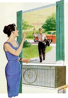 Greetings across the ac unit. fedders color 1957