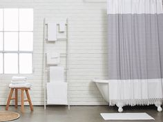 Turkish Shower Curtain | Parachute Home