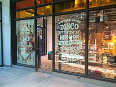 UrbanOutfitters Window Graphics