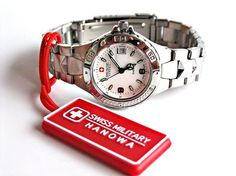 Swiss Military Hanowa Women's Watch - 10137L Free shipping #SwissMilitary #LuxuryDressStyles