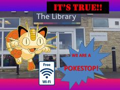 Pokémon Go in Gloucestershire Libraries