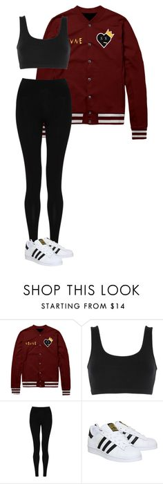 """""""street lover"""" by marcabaceira on Polyvore featuring adidas Originals, M&S Collection and adidas"""