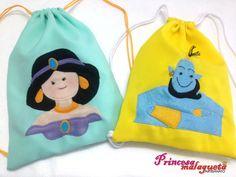 Jasmine e Gênio, de Aladdin