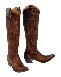 looking for some tall cowboy boots... kinda like these...but maybe less than $500:)