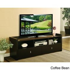 Furniture of America Valenciara Entertainment Console | Overstock.com Shopping - Great Deals on Furniture of America Entertainment Centers