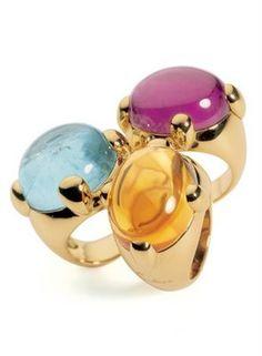 ❤ #ring #accessories from Pomellato