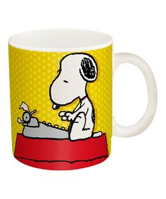 Love this Peanuts Snoopy Mug on #zulily! #zulilyfinds