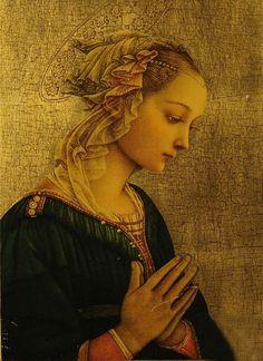 Фра Филиппо Липпи (1406—1469) — флорентийский живописец Mona Lisa, Rodin, Face Art, Sacred Feminine, Artwork, Painting, Color, Oxblood, Beauty