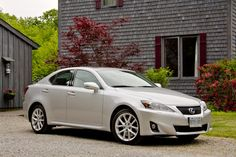Lexus IS-250 in Starfire Pearl...it would be the perfect graduation present, if I lived in Dreamland ;)