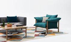 Wilfred chair and sofa by Jardan - Australia