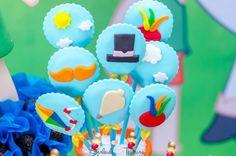 Cupcake, Baby Party, America 2, South America, Desserts, Bernardo, Lucca, Food, Chocolate Pops