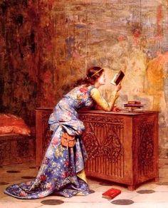 Reading and Art: Adolphe-Alexandre Lesrel