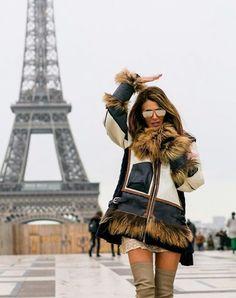 Anna dello Russo's take on Paris