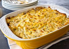 Winter Vegetable Pie by cookinglessons: Try this vegetarian version of shepherd's pie when you crave something cozy and informal. Use plenty of sharp cheddar for a cheesy topping; taste and add more as you like. It can be made and assembled a few hours ahead of time. Just increase the baking time to make sure it is piping hot when you serve it.  #Pie #Vegetarian