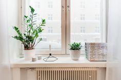 Scandinavian Interior - windowsill arrangement