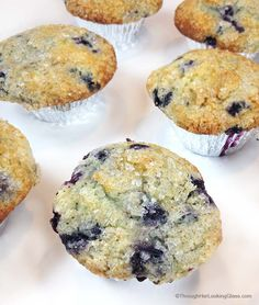 Jordan Marsh Blueberry Muffins: legend in the Boston area. Gigantic blueberry muffins with sugary, crunchy muffin tops.