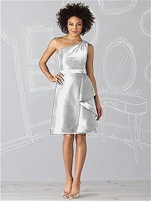 After Six #gray #bridesmaid #dress