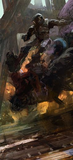 We showcase the work of a lot of talented artists here on Fine Art. But we're in for a real treat today, as few are as talented or as influential as Craig Mullins.
