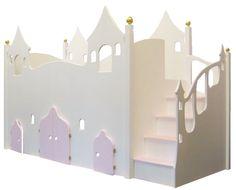 ❤ Halbhohes Kinderbett Feeli Elfengarten +Dieses zauberhafte Kinderbett ist geschaffen für Elfen, Feen und andere zarte Geister.+ Es wurde fü