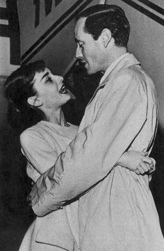 Audrey Hepburn and Mel - Audrey Hepburn and Mel Ferrer Photo (31327292) - Fanpop
