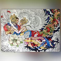 Heavenly Love Poster Lets Color Nicholas Chandrawienata