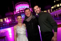 The Royal Pavilion Ice Rink in Brighton has opened for the winter season.  Olympic skating hopefuls Zoe Wilkinson and Christopher Boyadji took to the ice for the official opening, watched a crowd that included by Brighton and Hove mayor Pete West.  Former Olympic champion Robin Cousins officiall
