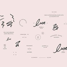@evablack_ design / graphic design / branding / pink / logo ideas / inspiration Self Branding, Logo Branding, Corporate Branding, Graphic Design Projects, Graphic Design Typography, Brand Identity Design, Branding Design, Branding Ideas, Typography Logo