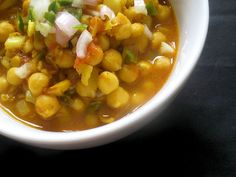 spicy sour chickpeas