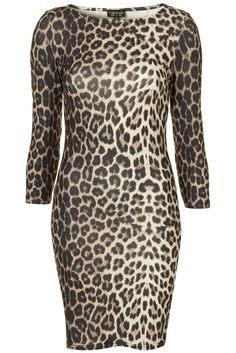 3be48026b2 Animal Print Bodycon Dress I have been watching The Nanny a lot lately