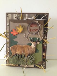 Hey, I found this really awesome Etsy listing at http://www.etsy.com/listing/152430559/fathers-day-hunting-masculine-handmade
