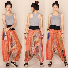 Sunny full Vol 1 percent hemp Harem Pants, Trousers, Hemp, Sunnies, Leggings Are Not Pants, Etsy, My Style, Skirts, Bohemian