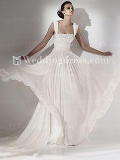 simple wedding dress-dream fly