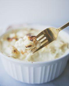 Cauliflower Brie Gratin.