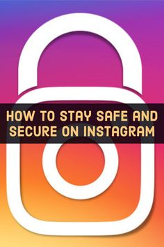 Instagram is great for sharing photos and videos, but it's important to protect your account from scammers and prying eyes. These nine tips can help. #cybersecurity #technology #socialmedia Instagram Password Hack, Secure Digital, Facebook Photos, How To Protect Yourself, Social Media Site, Stay Safe, Life Hacks, Safety, Technology