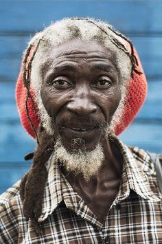 Jamaican Portraits by Wade Hudson, via Behance