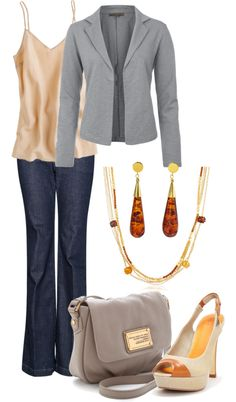 """""""Amber Jewelry"""" by laurynmarton ❤ liked on Polyvore"""