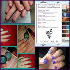 Try this with our Younique Mineral Pigment colours