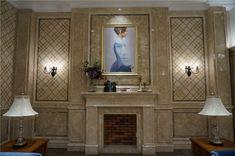 classical pattern water jet marble design for wall #waterjetmarble #marbleinlat #marblemedallion #marbleflooring #marbletile