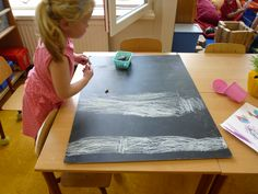 """Een zebrapad voor in de themahoek """"in het verkeer """" op de prins Clausschool."""