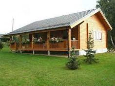 energy saving prefab houses be built with cost saving eps cement insulation wall panels Style At Home, House In The Woods, My House, Bamboo House, Cabins And Cottages, Prefab Homes, Home Design Plans, Kit Homes, Inspired Homes
