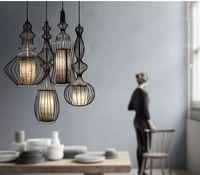 Ikea nórdica moderna colgante de hierro luz de luz colgante accesorio de iluminación garantizado 100% + envío gratis
