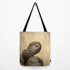 Golden Renaissance Art Print Tote Bag Featuring by AmandaJaneDalby
