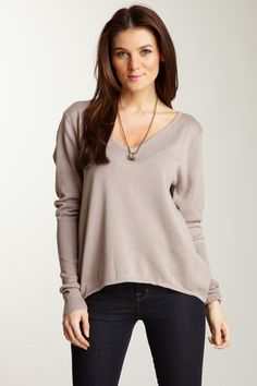 Long Sleeve V-Neck Sweater on HauteLook