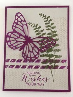 The best stamp set ever--so versatile and easy to work with, and paired with the new Butterflies Thinlits, there's just endless possibility for this set. Please visit my blog at www.greetingsbygosia.com