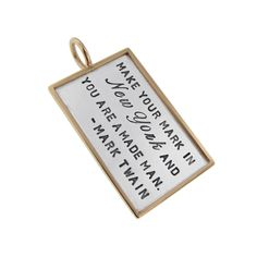 Inpirational Quote Jewelry - What Inspires You? - It's exciting to create something that motivates you and helps keep you focused on a #goal and an end result. Choose the perfect #quote for you!  - sponsored